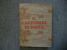 Il Canzoniere di Dante Alighiere [Dante Gabriel Rossetti]