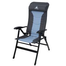 Gartenstuhl Jai gepolsteter Klappstuhl Campingstuhl Liege-Stuhl mit Kopfkissen