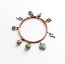 UK Boho Style Charms Multi Layer Vintage Bracelet Bangle Women Girls Wrist Jewel