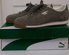 Puma men's roma Green  Classic Gum sneaker - Size 11