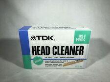 TDK VCL-11 Head Cleaner Cassette VHS-C S-VHS-C