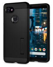 Spigen® Google Pixel 2 XL [Tough Armor] Handy Schutzhülle Case Cover [Schwarz]