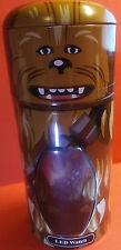 2016 STAR WARS Touch LED Chewbacca Wookie Watch in Collectible Canister New!!