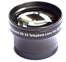 Pro HD 2x Telephoto Lens For Panasonic Lumix DMC-LX7K DMC-LX7W DMC-LX7