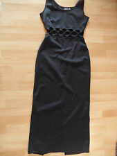 MODERN WOMAN by NICOWA chices Abendkleid bauchfrei schwarz Gr. 40 NEUw. HSR1215