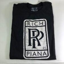 Rich Piana 5% Nutrition RP Shirt Size X-Large Black Color