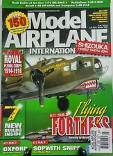 Model Airplane International July 14 Kit Build Flying Fortress FREE SHIPPING sb