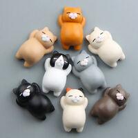 Funny Cartoon Animal Cute Cat Fridge Magnet Sticker Refrigerator Home Decoration