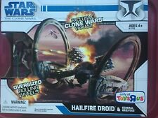 Star Wars The Clone Wars TOYS R US Hailfire Droid w/ General Grievous figure Exc
