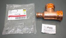 """New listing Viega ProPress Copper Xl-C Tee 20694, 2-1/2"""" x 1-1/4"""" x 2-1/2"""", P x P x P"""