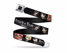 Attack On Titan Animated Chibi Soldiers Titan Seatbelt Belt