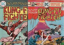 Lot 3 Richard Dragon Master of Kung-Fu DC  Bronze Age Starlin
