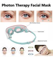3 LED Light Photon Face Mask Eye Rejuvenation Skin Therapy Wrinkles Anti Vn