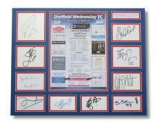 CRYSTAL PALACE 2010 Hillsborough Heroes SIGNED 20x16 Autograph Display COA