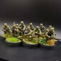 Very Well Painted 28mm Bolt Action German Waffen SS ×10 squad #2 of 3