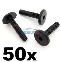 50x BMW Side Skirt & Sill Moulding Trim Plastic Securing Bolt / Pin- Torx Head