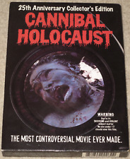 Ruggero Deodato CANNIBAL HOLOCAUST Collector's Edition GRINDHOUSE Region 1 DVD