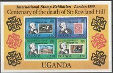 v5237 Uganda/ London 80 Sir Hill  MiNr Block 20 **