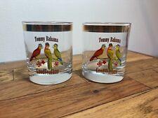 2 Tommy Bahama Rock Glasses Goodfeathas Pair Parrots Arc