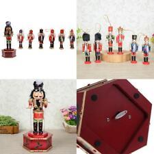 Lot de 7pcs Casse-Noisette Boîte à Musique En Bois Multicoloré Figurine