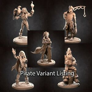 Pirate Variation Listing by Bite the Bullet, D&D, Pathfinder, Warhammer, rpg