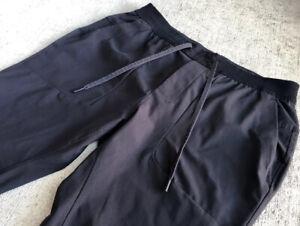 "Lululemon Men's ABC Jogger XL Large 29"" Black Active Run"