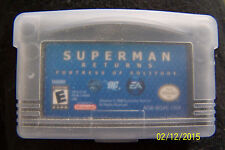 Superman Returns: Fortress of Solitude Nintendo Game Boy Advance Complete in Box