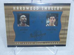 2002 Upper Deck Hardwood Imagery Karl Malone John Stockton Inspirations Card
