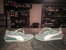Puma Steeple Girls Youth Athletic Fashion Shoes Size 3 Blue White