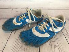 Vibram Fivefingers SPEED Womens 39 / 7.5 - 8 Blue Barefoot Running Shoe 2e6