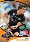 ✺Signed✺ 2009 WESTS TIGERS NRL Card CHRIS HEIGHINGTON Daily Telegraph