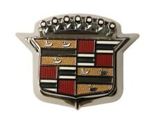 1964-1968 Cadillac Deville Eldorado Fleetwood Trunk Lock Cover & Crest Ornament
