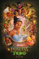The Prince And The Frog great original D/S 27x40 movie poster Disney 2009