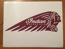 Tin Sign Vintage Indian Motorcycles 2