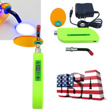 US Dental Wireless Cordless LED Cure Curing Light Lamp 2000mw/cm² With 3 mode CE