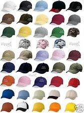 Valucap Adult Bio-Washed Unstructured Cotton Cap VC300A Dad's Cap Baseball Hat