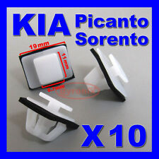 KIA SORENTO PICANTO SIDE TRIM MOULDING GARNISH EXTERIOR PLASTIC CLIPS
