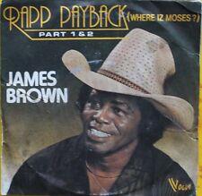 "Vinyle 45T James Brown  ""Rapp payback"""