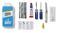 WELDTITE TUBELESS TYRE OUTER CYCLE BICYCLE BIKE PUNCTURE REPAIR KIT inc TOOLS