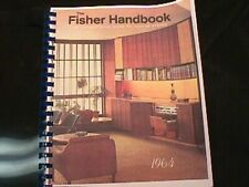 NEW Fisher Handbook Encyclopedia of Vacuum Tube Hi-Fi Equipment Vol I
