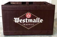 Westmalle Trappist Belgian Beer Crate Plastic 24 Bottles Carrier