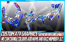 Yamaha Raptor 250/350/660/700 Yfz Calcomanías Gráficos 450/450R