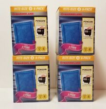 New listing Marineland Penguin Power Rite-Size C Filter Cartridge - 4 Boxes 6 Count Each