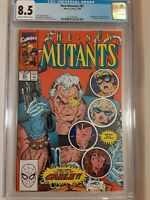 New Mutants #87 CGC 8.5 1990 1st full app. Cable