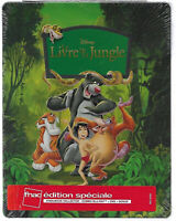 Blu-ray Disney Le livre de la jungle Steelbook Édition Limitée Exclusive Fnac