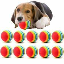 10PCS Dog Balls Small Dog Pets Chew Ball Pet Puppies Tennis Balls Puppy Play Toy