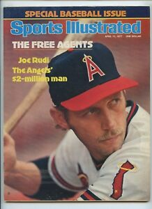 Sports Illustrated Joe Rudi Angels Baseball Issue 1977 Hack Wilson HOF Snub