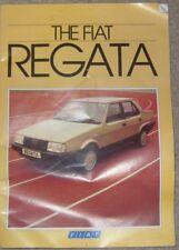 Fiat Regata 1984 classic CAR Brochure UK market