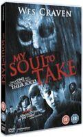 MY SOUL TO TAKE NEW REGION 2 DVD