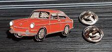 Volkswagen VW pin tipo 3 aerodinámico 1600 rojo-medida 39x19mm